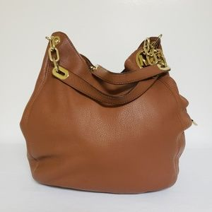 Micheal Kors Pebbled Leather Bag